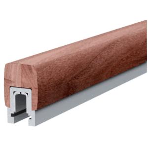 Walnut 397 Series Wood Cap Rail