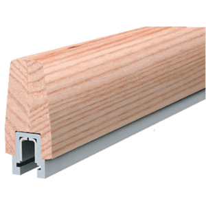 White Oak 372 Series Wood Cap Rail