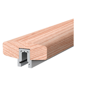 White Oak 373 Series Wood Cap Rail