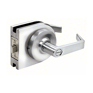 Polished Stainless Grade 1 Lever Lock Housing - Privacy