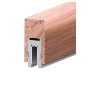 """631 Ash Finish Series 2-1/2"""" x 4"""" (63.5 x 102 mm) Wood Cap Railing 120"""" (3.05 m) Lengths Wood Cap Railing"""
