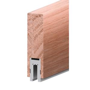 """Ash Finish 633 Series 2-1/2"""" x 8"""" (63.5 x 203 mm) Wood Cap Railing 120"""" (3.05 m) Lengths Wood Cap Railing"""