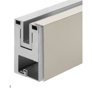 Brushed Stainless Outside Fascia Cladding for RG650 Base Shoe