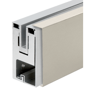Brushed Stainless Outside Fascia Cladding for RG450 Base Shoe