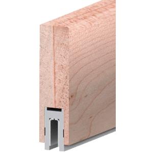 """Maple Finish 633 Series 2-1/2"""" x 8"""" (63.5 x 203 mm) Wood Cap Railing 120"""" (3.05 m) Lengths Wood Cap Railing"""