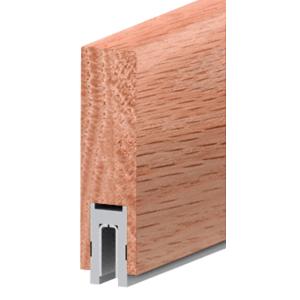 """Red Oak Finish 633 Series 2-1/2"""" x 8"""" (63.5 x 203 mm) Wood Cap Railing 120"""" (3.05 m) Lengths Wood Cap Railing"""