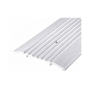 "6"" Aluminum Commercial Saddle Threshold - 36-1/2"" Length"