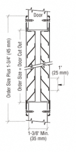 "CRL 700A24X12 700A Series 24"" x 12"" Door Louver"