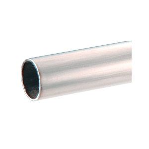 "CRL HR10BS98 Brushed Stainless 1"" Diameter Round .050"" Tubing - 98"""