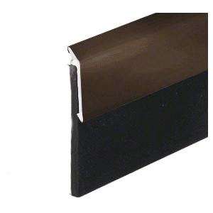 """Dark Bronze Anodized Heavy-Duty Door Sweep - 48"""""""