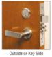CRL ML9453 Heavy-Duty Mortise Lever Lock