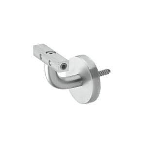 Imperial Series Satin Anodized Aluminum Wall Mounted Hand Rail Bracket