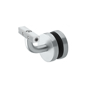 Mill Aluminum Imperial Series Glass Mounted Hand Rail Bracket