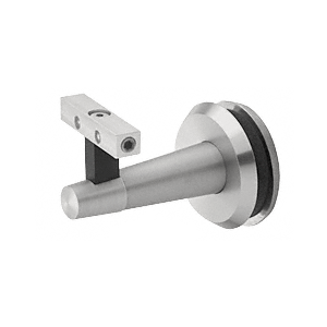 Pacific Series Brushed Stainless Glass Mounted Hand Rail Bracket