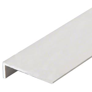 "CRL-U.S. Aluminum A20011 Clear Anodized 'L' Angle, 2-7/8"" x 7/8"" x 1/8"" - 21'-2"""