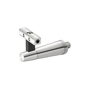 Pacific Series Polished Stainless Post Mounted Hand Rail Bracket