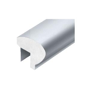 Mill Aluminum 376 Series Elliptical Aluminum Cap Rail