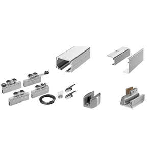 50 Series Two Panel Telescoping Ceiling Mount Kit - Left Stacking Direction