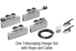 CRL CRL50CP2R 50 Series Two Panel Telescoping Ceiling Mount Kit - Right Stacking Direction