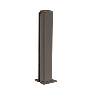 "Duranodic Bronze 14"" End Design Series Partition Post"