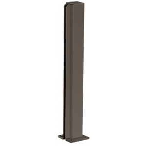 "Duranodic Bronze 30"" End Design Series Partition Post"