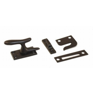 Ives Residential 066A10B Aluminum Casement Fastener with Multiple Strikes Oil Rubbed Bronze Finish