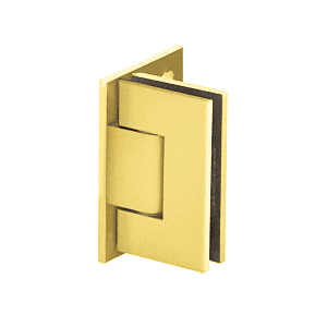 Adjustable Polished Brass Wall Mount Offset Back Plate