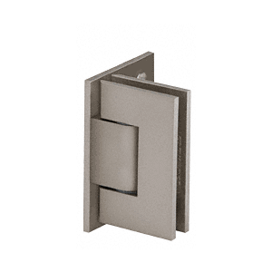 Adjustable Brushed Nickel Wall Mount Offset Back Plate