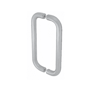 """10"""" Clear Anodized Straight Back-to-Back Pull Handles"""