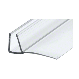 "CRL PC1090 3/8"" Polycarbonate 'U' with 90 Degree Vinyl Finseal"