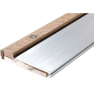 "CRL 1003A42 42"" Aluminum Oak Adjustable Sill 6-3/8"" x 1-1/8"""