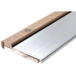 "48"" Aluminum Oak Adjustable Sill 6-3/8"" x 1-1/8"""