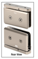 CRL PPH301BN Brushed Nickel Adjustable Prima Series Hinge