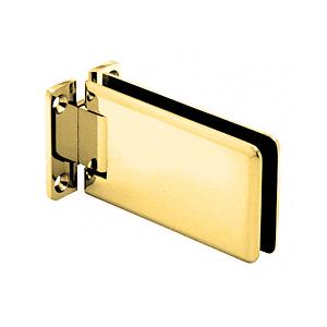 Polished Brass Adjustable Standard Wall Mount Grande Series Hinge