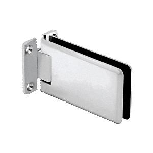 Satin Chrome Adjustable Standard Wall Mount Grande Series Hinge