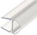 "CRL PCR10 Translucent Vinyl Bulb Seal for 3/8"" Glass"