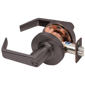 Oil Rubbed Bronze Privacy Heavy-Duty Grade 2 Lever Lockset