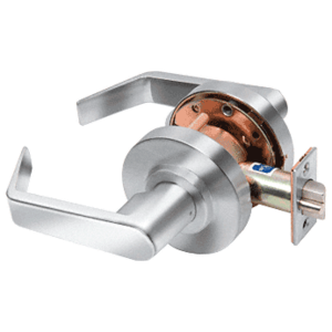 Polished Chrome Passage Standard Grade 2 Lever Lockset