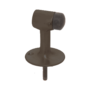 CRL DL2522DU Dark Bronze Floor Mounted Heavy-Duty Door Stop