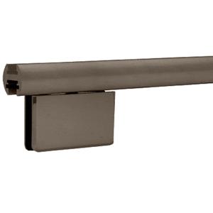 """CRL EHK980RBEXT Oil Rubbed Bronze 95"""" EZ-Adjust Shower Door Header Only"""