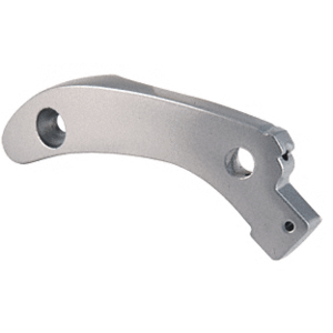Satin Aluminum Right Side Arm Assembly for 1095 Rim Exit Panic Device