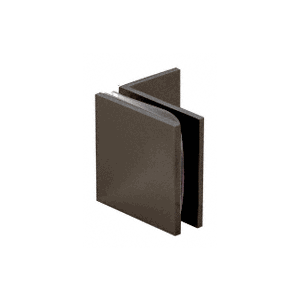 Oil Rubbed Bronze Fixed Panel Square Clamp With Small Leg