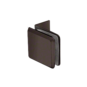 Oil Rubbed Bronze Fixed Panel Beveled Clamp With Small Leg