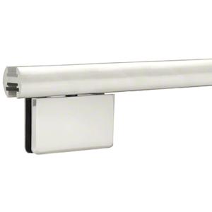 """CRL EHK98AEXT Satin Anodized 95"""" EZ-Adjust Shower Door Header Only"""