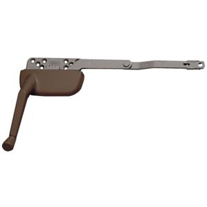 "Bronze 9-1/2"" Right Hand Single Arm Ellipse Surface Mount Dyad Casement Operator"
