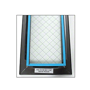 """24"""" x 24"""" Door Vision Lite with Wire Glass"""