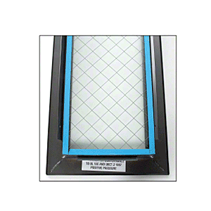 "24"" x 30"" Door Vision Lite with Wire Glass"