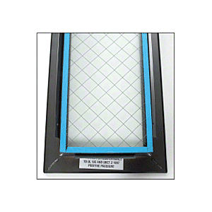 "7"" x 22"" Door Vision Lite with Wire Glass"