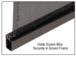 CRL 5CBL160 Black .160 Screen Retainer Spline - 500 Foot Roll