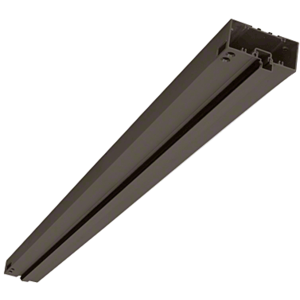 """Bronze Anodized 2"""" x 4-1/2"""" 451 Series Single Acting Prepped Header for Offset Pivots with Surface Closers"""